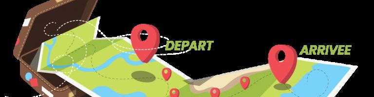 Visuel pour La carte des étapes